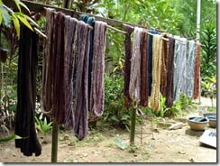 Natural dye color
